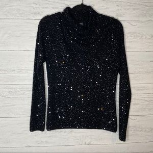 Classiques entier beaded and sequined sweater